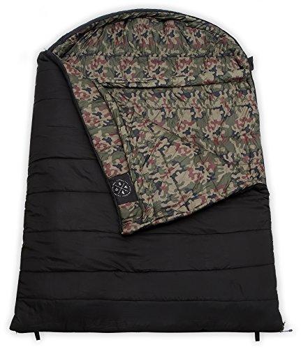 Den Colossal Winter Dobbelt sovepose-XXXL hætte-8346