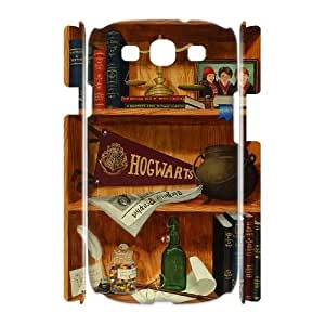 bookshelf style High Qulity Customized 3D Cell Phone Case for Samsung Galaxy S3 I9300, bookshelf style Galaxy S3 I9300 3D Cover Case