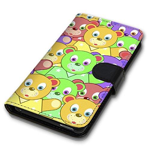 Wallet Book Style Flip Handy Tasche Case Schutz Hülle Schale Motiv Etui für Apple iPhone 6 Plus / 6S Plus - Design Flip MV204