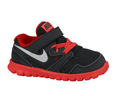 2c8d3b140a600 New Nike Baby Boy s Flex Experience 3 Athletic Shoes Black Challenge Red 4