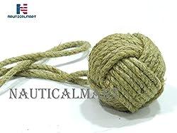 NAUTICALMART Rope Knot Curtain Tie Back Nautical Decor - pair