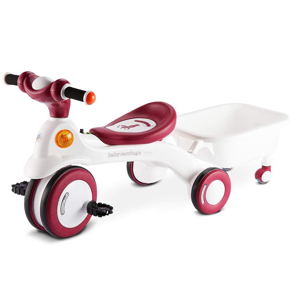 servicio de primera clase Vino Tinto 1 4224.534CM Coche Juguete model Bicicleta de 3 3 3 Ruedas para niños, Mini Bicicleta de Entrenamiento para bebés, Bicicleta para bebés  barato