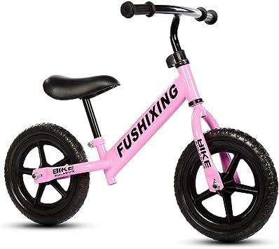 DJXLMN Bicicleta de Entrenamiento Balance Bike para niños pequeños ...