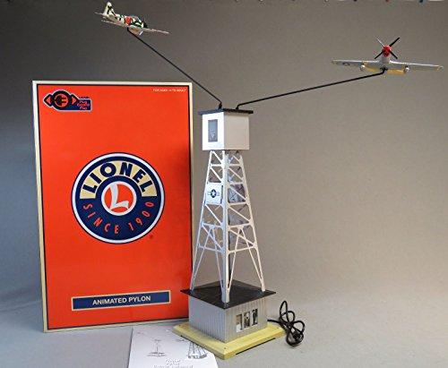 Lionel 685411 Plug-Expand-Play World War II Pylon, O Gauge, White, Gold, Gray, Yellow, Green, Orange, black