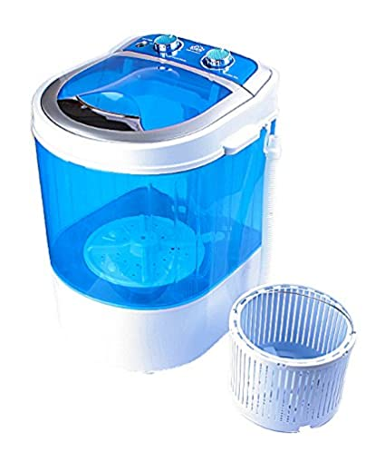 DMR 3 kg Portable Mini Washing Machine with Dryer Basket...