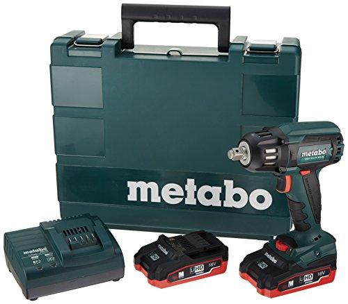 "Metabo 18V Brushless 1/2"" Sq.Impact Wrench 3.1Ah Kit"