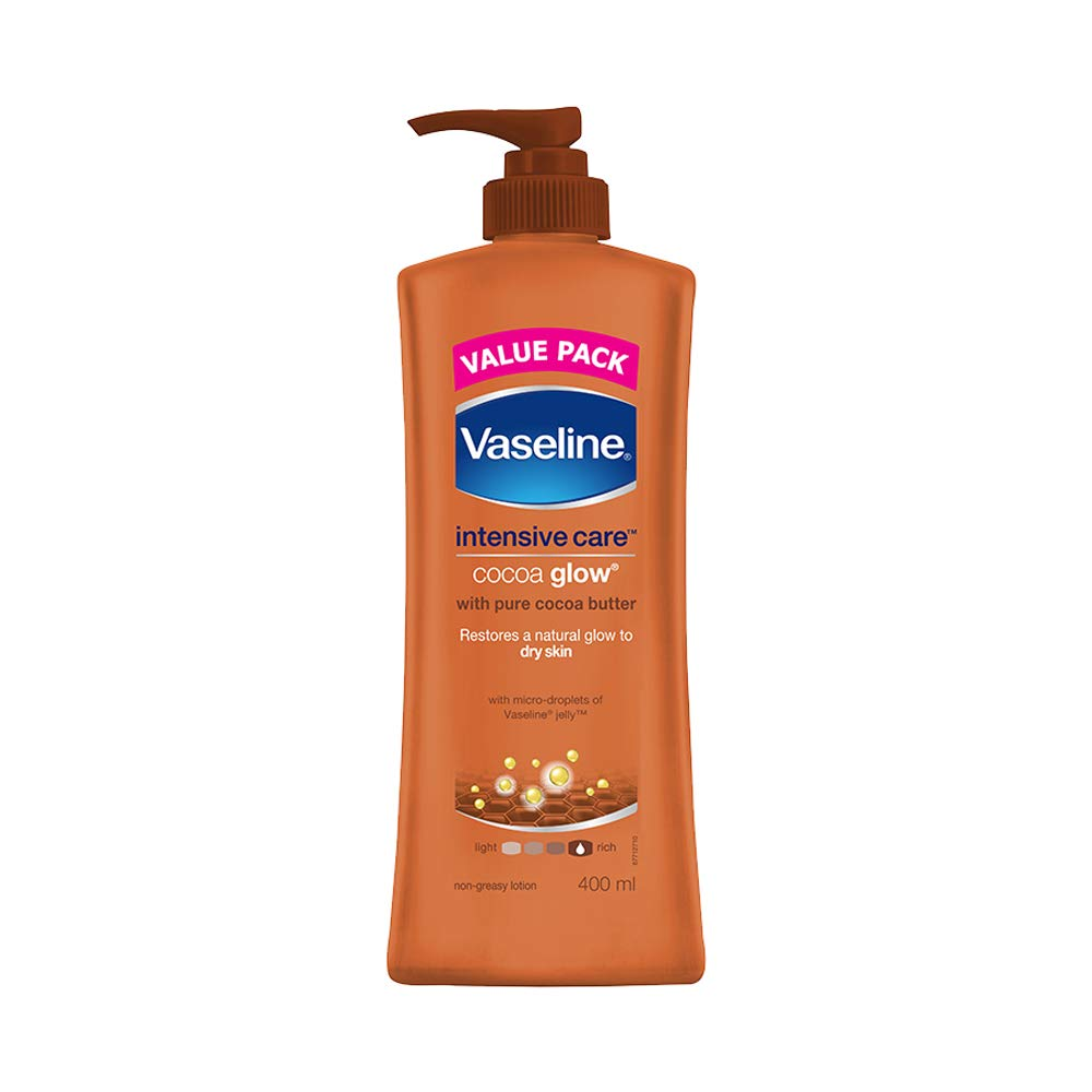 Vaseline Intensive Care Cocoa Glow Body Lotion, 400 ml product image