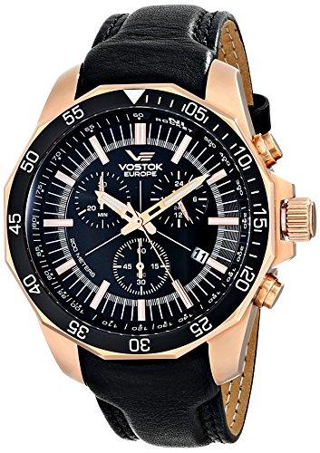Vostok-Europe Men's JS06/2259154 N-1 Rocket 46mm Case Quartz Chronograph Watch