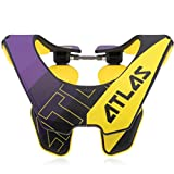 Atlas Air Brace Baller Neck Brace Yellow Large Motocross MX Protection