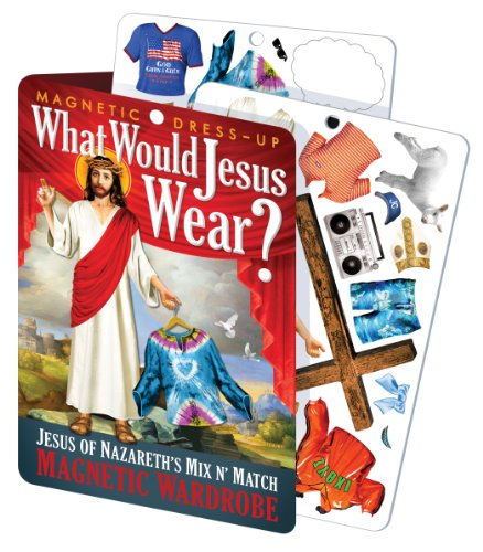 What Would Jesus Wear - Jesus Magnetic Dress Up Doll Play Set -