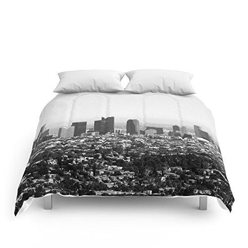 "Society6 Los Angeles, CA Comforters Queen: 88"" x 88"""