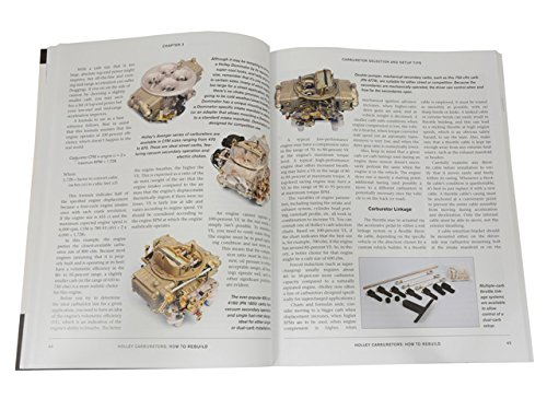 Corvette Holley Carburetor How To Rebuild Book