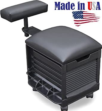 2316 Salon Spa Pedicure Nail stool Seat w/adjustable footrest by Dina Meri Made  sc 1 st  Amazon.com : pedicure stools with footrest - islam-shia.org