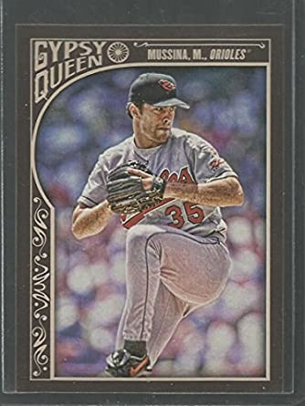2015 Topps Gypsy Queen #31 Mike Mussina Baltimore Orioles Baseball Card