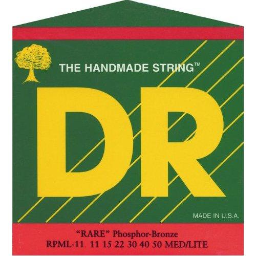 - DR Strings Rare - Phosphor Bronze AcousticHex Core 11-50
