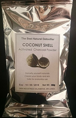 Activated Charcoal Powder 100% Pure Food Grade 1lb - Premium Raw Coconut Carbon Bulk - More Effective than Hardwood Activated Charcoal - 100% Natural - Use for Teeth Whitening, Digestion, Detox (4 oz)