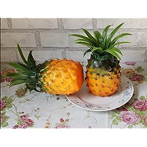 Lorigun 1pc Artificial Lifelike Pineapple Fake Fruit Model Teaching Photo Child Education Props Home Store Ananas Kitchen Decoration 47