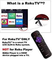 Original Hisense Roku TV Remote w//Volume Control /& TV Power Button for All Hisense Roku TV Roku Built-in TV, NOT Roku Player Connect w//TV