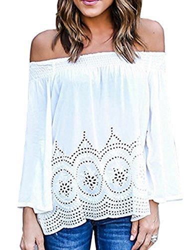 Relipop Fashion Shoulder Blouses T shirts product image
