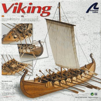 Latina 19001 1/75 (Viking Longboat Model)