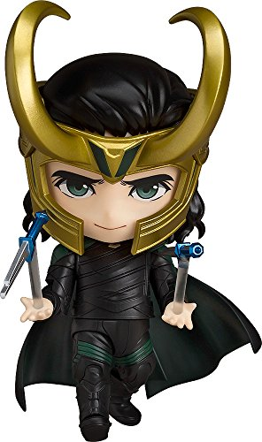 Good Smile Nendoroid Thor Ragnarok Battle Royal Edition Loki ABS PVC Figure