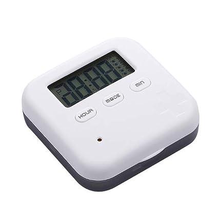 YANGTT Dispensador De La Caja De Almacenamiento De Pastillas Electrónicas, Dosificación De 7 Días,