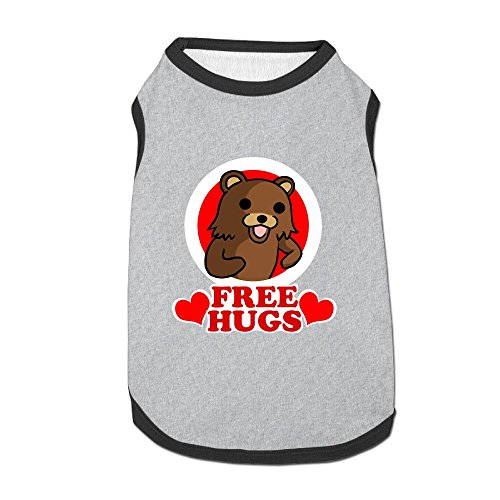 Dog T-Shirt Clothes Bear Hugs Doggy Puppy Tank Top Pet Cat Coats Outfit Jumpsuit Hoodie (Bear Grylls Halloween Costume)