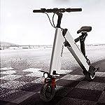 Ylight Monopattino elettrico – fino a 35 km di lunghezza e 40 km/h pieghevole scooter portatile con doppio sistema di…