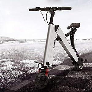 Ylight - Monopattino elettrico pieghevole per adulti e ragazzi, fino a 35 km di lunghezza e 40 km/h