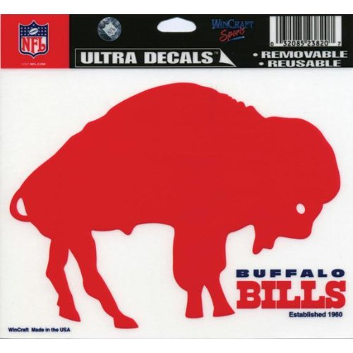 NFL Buffalo Bills Multi-Use Colored Decal, 5