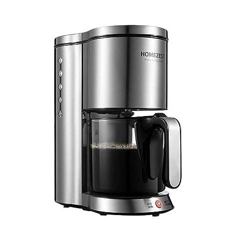 Máquina inteligente del café americano del goteo del aislamiento del cuerpo de acero inoxidable automático casero