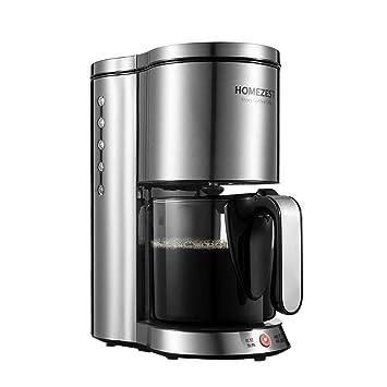 Máquina inteligente del café americano del goteo del aislamiento del cuerpo de acero inoxidable automático casero: Amazon.es: Hogar