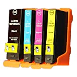 Superb Choice® Compatible ink Cartridge for Lexmark 108/108XLA (Black/Cyan/Magenta/Yellow) use in Lexmark Printer
