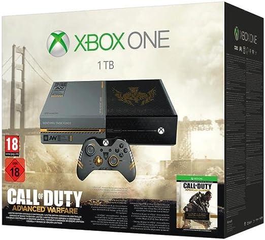 Microsoft Xbox One + Call of Duty: Advanced Warfare - juegos de PC (Xbox One, 500 MB, DDR3, Blu-Ray, 1000 GB, Negro, Gris): Amazon.es: Videojuegos