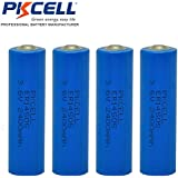 4 Pack AA 14505 2400mAh 3.6V Lithium AA Cell Battery