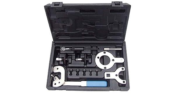 MAUTEM Herramientas para Puesta en Fase Motores Fiat 1.3 Multijet 12 Piezas: Amazon.es: Coche y moto