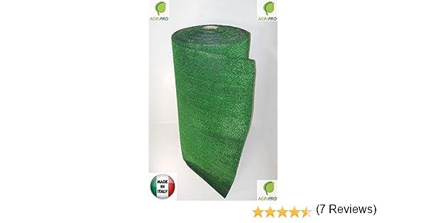 Agri-Pro El césped Artificial 1 x 5 m Resistentes Verdes 7 mm ...