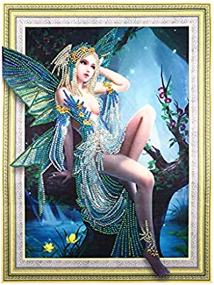 Elf Girl 5D Special Shaped Diamond Painting Embroidery Cross Stitch Kit DIY