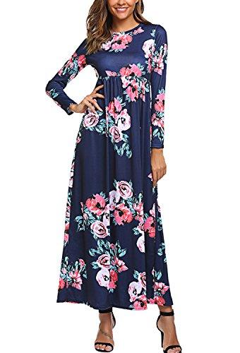 Print Cotton Maxi Dress - 5