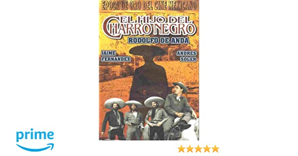 Amazon.com: El Hijo Del Charro Negro: Crox Alvarado, Jaime ...