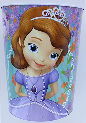 Disney Sofia the First Wastebasket - Garbage Can - Smart Princesses -