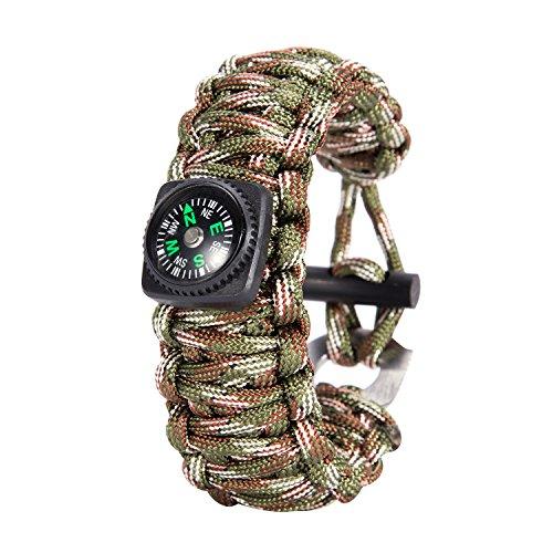 Gonex Paracord Survival Bracelet Parachute