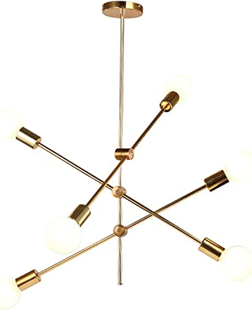 Sputnik Lamp Chandelier Vintage Pendant Light Fixture