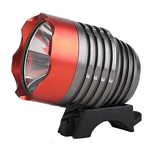 Onedayshop 4 Modes Super Bright 1800lm- Cree Xm-l T6 LED Bike Bicycle Light Headlight Headlamp with Battery Pack and Charger Complete Set for Camping, Hiking, Outdoor Sports (Bike Headlamp)