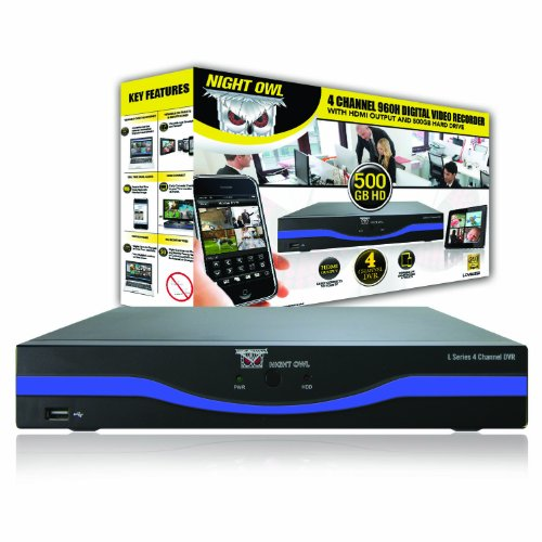 Night Owl Security L Dvr4 5gb 4 Channel 960h Dvr With