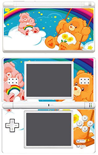 Price comparison product image Care Bears Teddy Cartoon Video Game Vinyl Decal Skin Sticker Cover for Nintendo DS Lite System