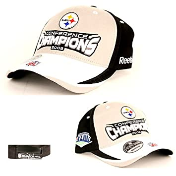 Pittsburgh Steelers 2008 AFC Champions Reebok Locker Room Unisex Baseball  Cap e42e0e88a
