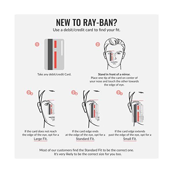 Ray-Ban Round Metal Occhiali Unisex-Adulto 6