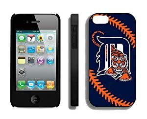 Best Iphone 4/4s Case MLB Detroit Tigers Sports Element Coolest Custom Made Mobile Accessories by runtopwell