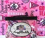 'NUGGLEBUDDY Moist Heat & Aromatherapy Organic Rice Pack for Microwave. Cheerleader Fabric. UNSCENTED! Great Gift Idea!
